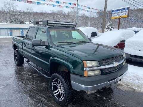 2003 Chevrolet Silverado 2500HD for sale at INTERNATIONAL AUTO SALES LLC in Latrobe PA