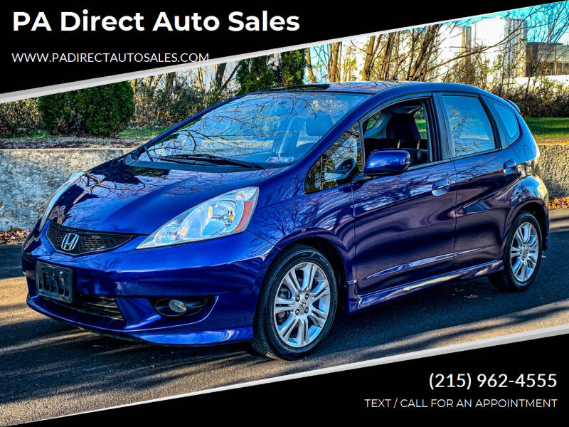 2010 Honda Fit for sale at PA Direct Auto Sales in Levittown PA