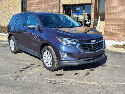 2018 Chevrolet Equinox for sale at Mighty Motors in Adrian MI