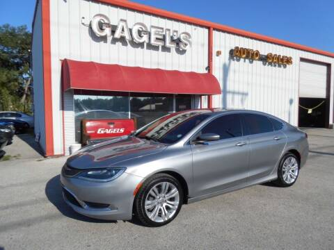 2016 Chrysler 200 for sale at Gagel's Auto Sales in Gibsonton FL