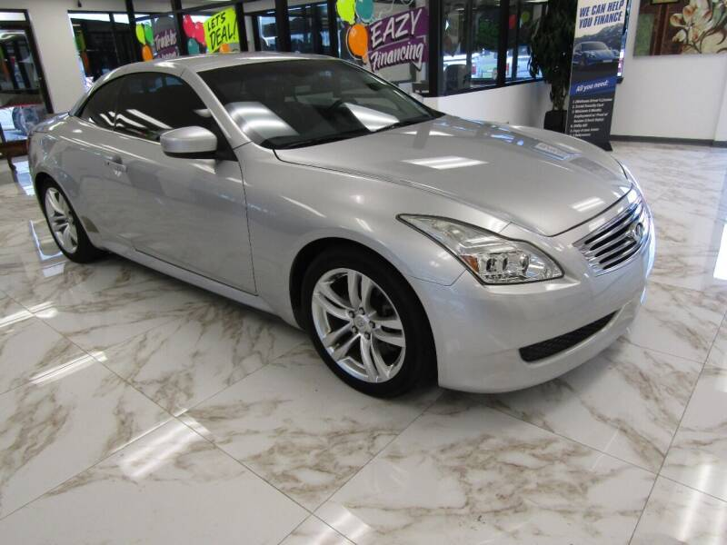 2009 Infiniti G37 Convertible for sale at Dealer One Auto Credit in Oklahoma City OK