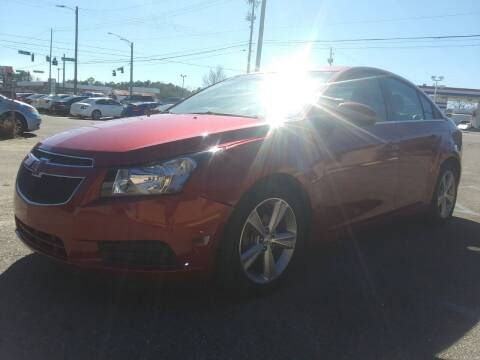 2013 Chevrolet Cruze for sale at Best Buy Autos in Mobile AL