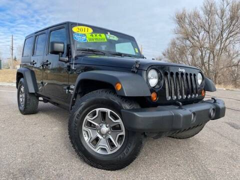 2011 Jeep Wrangler Unlimited for sale at UNITED Automotive in Denver CO