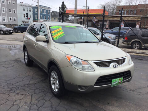 2008 Hyundai Veracruz for sale at Adams Street Motor Company LLC in Dorchester MA