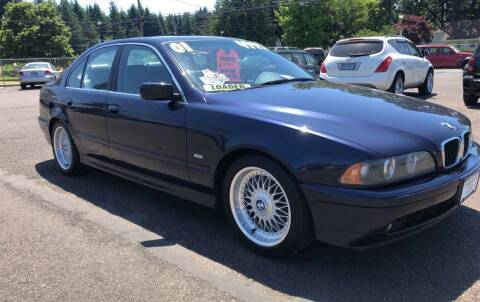 2001 BMW 5 Series for sale at Freeborn Motors in Lafayette, OR