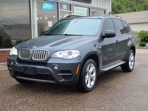 2012 BMW X5 for sale at Green Cars Vermont in Montpelier VT