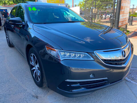 2016 Acura TLX for sale at TOP SHELF AUTOMOTIVE in Newark NJ
