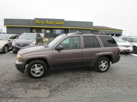2008 Chevrolet TrailBlazer for sale at MIRA AUTO SALES in Cincinnati OH