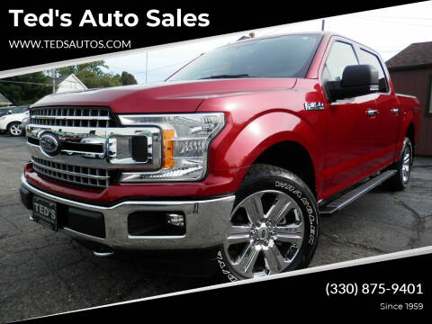 2018 Ford F-150 for sale at Ted's Auto Sales in Louisville OH