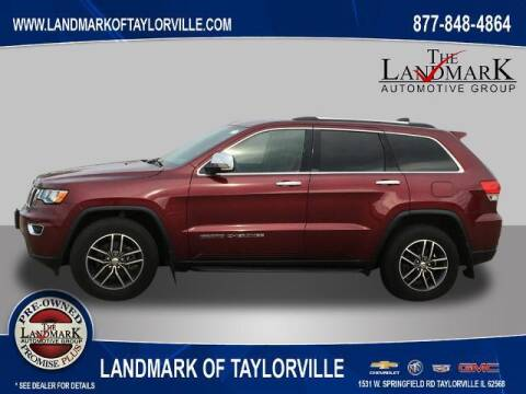 2018 Jeep Grand Cherokee for sale at LANDMARK OF TAYLORVILLE in Taylorville IL