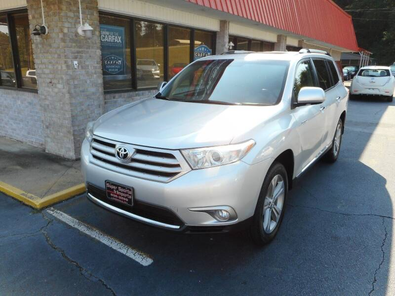 2013 Toyota Highlander for sale at Super Sports & Imports in Jonesville NC