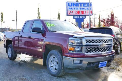 2014 Chevrolet Silverado 1500 for sale at United Auto Sales in Anchorage AK