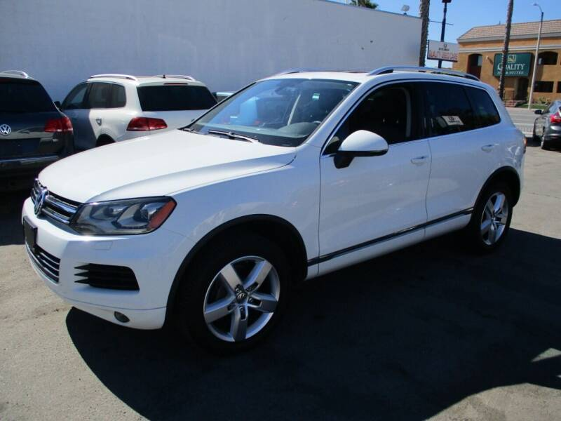 2014 Volkswagen Touareg for sale at Shoppe Auto Plus in Westminster CA