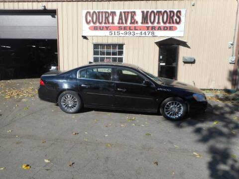 2009 Buick Lucerne for sale at Court Avenue Motors in Adel IA