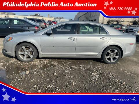 2011 Chevrolet Malibu for sale at Philadelphia Public Auto Auction in Philadelphia PA