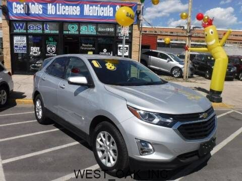 2018 Chevrolet Equinox for sale at West Oak in Chicago IL