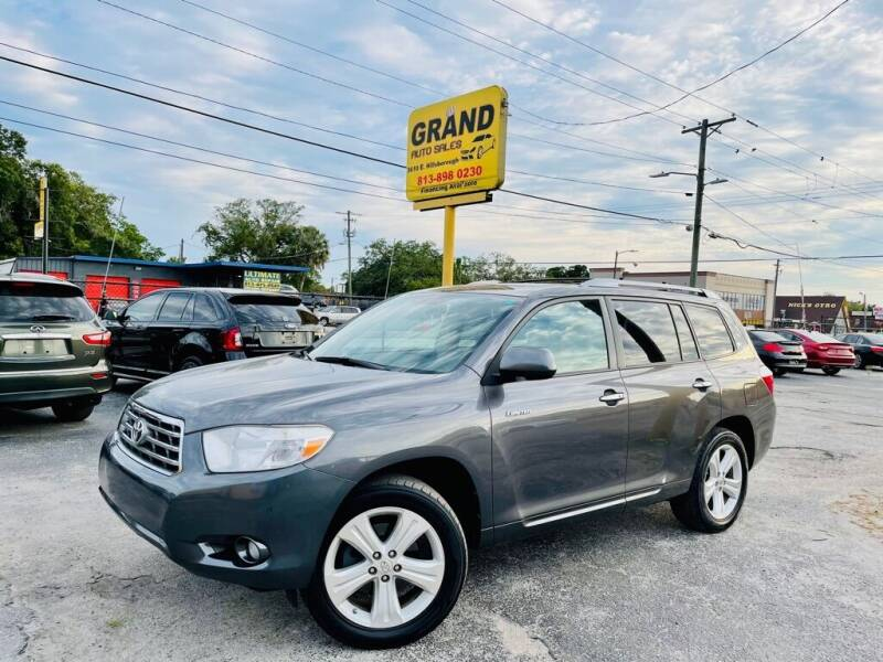 2010 Toyota Highlander for sale at Grand Auto Sales in Tampa FL