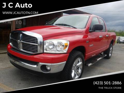 2008 Dodge Ram Pickup 1500 for sale at J C Auto in Johnson City TN