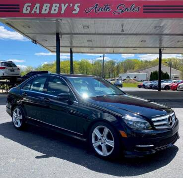 2011 Mercedes-Benz C-Class for sale at GABBY'S AUTO SALES in Valparaiso IN