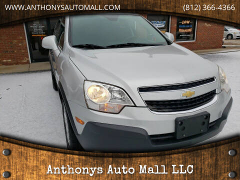 2014 Chevrolet Captiva Sport for sale at Anthonys Auto Mall LLC in New Salisbury IN