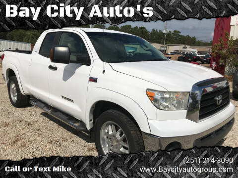 2007 Toyota Tundra for sale at Bay City Auto's in Mobile AL