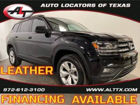 2020 Volkswagen Atlas for sale at AUTO LOCATORS OF TEXAS in Plano TX