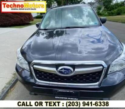2016 Subaru Forester for sale at Techno Motors in Danbury CT