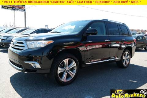 2011 Toyota Highlander for sale at L & S AUTO BROKERS in Fredericksburg VA