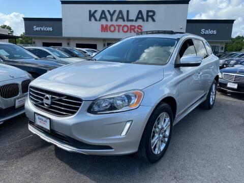 2015 Volvo XC60 for sale at KAYALAR MOTORS in Houston TX