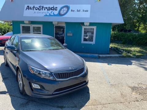 2015 Kia Optima Hybrid for sale at Autostrade in Indianapolis IN