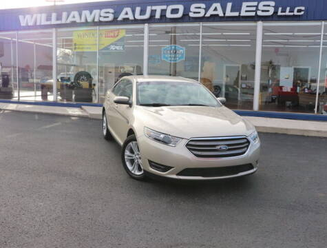 2018 Ford Taurus for sale at Williams Auto Sales, LLC in Cookeville TN