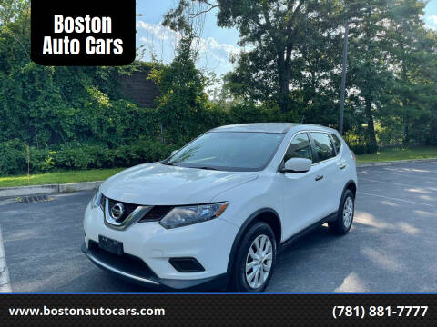 2016 Nissan Rogue for sale at Boston Auto Cars in Dedham MA