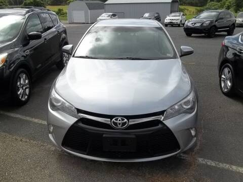 2016 Toyota Camry for sale at Gilliam Motors Inc in Dillwyn VA