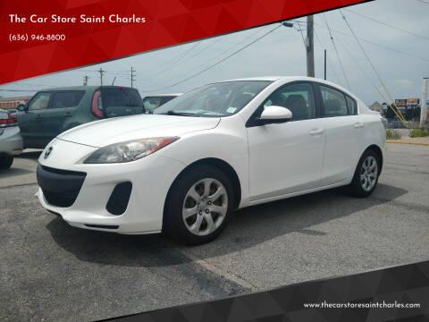 2012 Mazda MAZDA3 for sale at The Car Store Saint Charles in Saint Charles MO