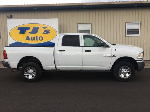 2016 RAM Ram Pickup 3500 for sale at TJ's Auto in Wisconsin Rapids WI