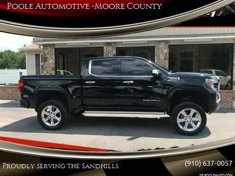 2020 GMC Sierra 1500 for sale at Poole Automotive in Laurinburg NC