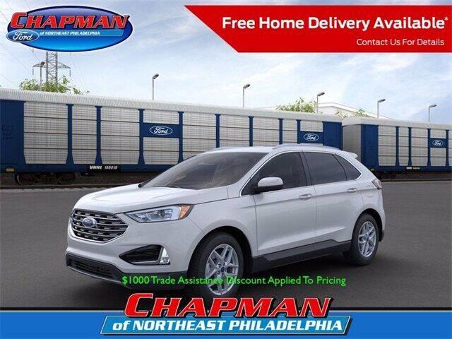 2021 Ford Edge for sale at CHAPMAN FORD NORTHEAST PHILADELPHIA in Philadelphia PA