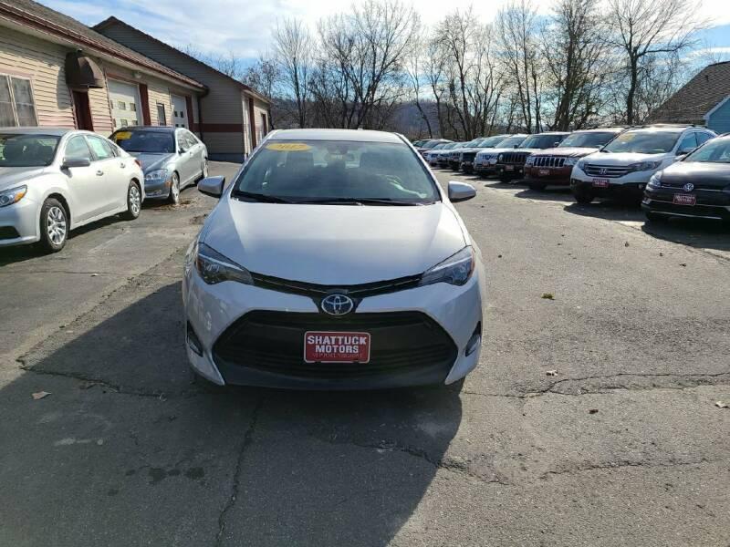 2017 Toyota Corolla for sale at Shattuck Motors in Newport VT