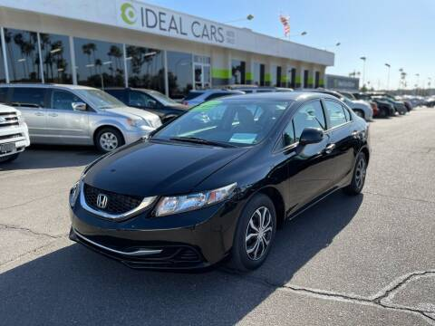 2013 Honda Civic for sale at Ideal Cars Broadway in Mesa AZ