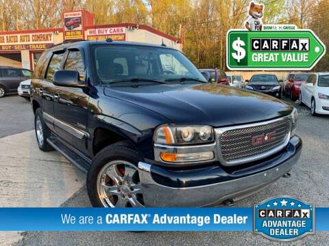 2005 GMC Yukon for sale at High Rated Auto Company in Abingdon MD
