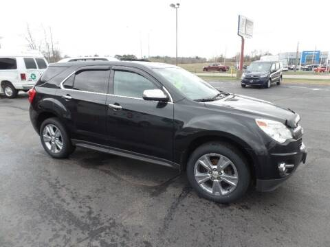 2011 Chevrolet Equinox for sale at STEINKE AUTO INC. in Clintonville WI