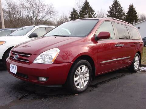 2010 Kia Sedona for sale at Jay's Auto Sales Inc in Wadsworth OH