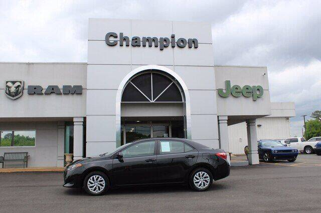2019 Toyota Corolla for sale at Champion Chevrolet in Athens AL