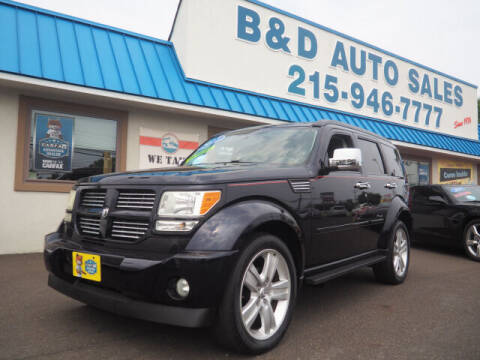 2011 Dodge Nitro for sale at B & D Auto Sales Inc. in Fairless Hills PA