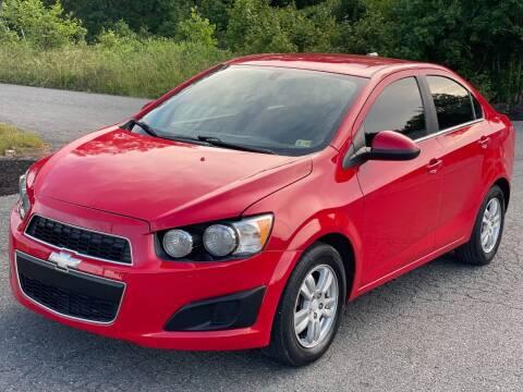 2014 Chevrolet Sonic for sale at ECONO AUTO INC in Spotsylvania VA