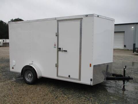 2022 Continental Cargo Sunshine 7x12 Vnose Single Axl