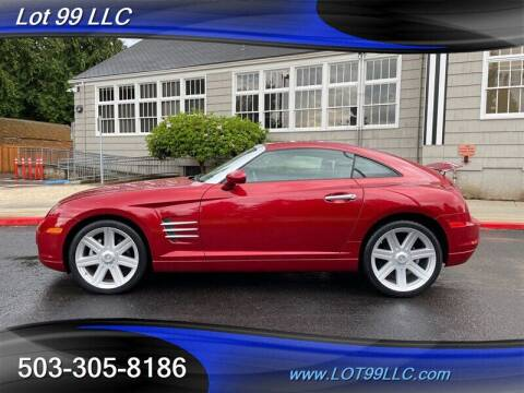 2004 Chrysler Crossfire for sale at LOT 99 LLC in Milwaukie OR