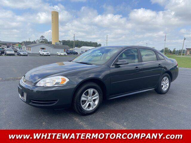 2013 Chevrolet Impala for sale at WHITEWATER MOTOR CO in Milan IN