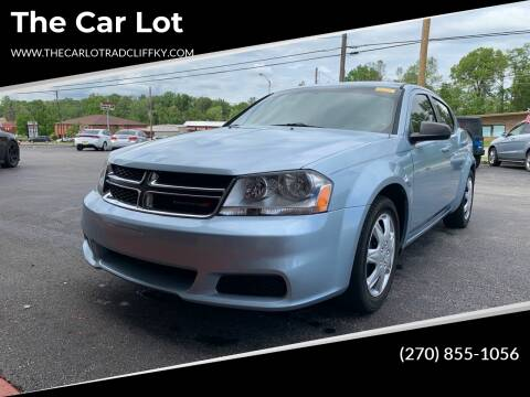 2013 Dodge Avenger for sale at The Car Lot in Radcliff KY