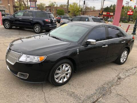 2012 Lincoln MKZ for sale at Bibian Brothers Auto Sales & Service in Joliet IL